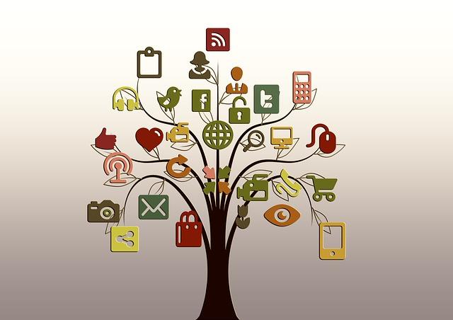 strom s ikonami