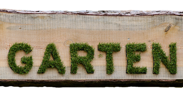 zelený nápis
