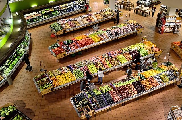 oddělení zeleniny