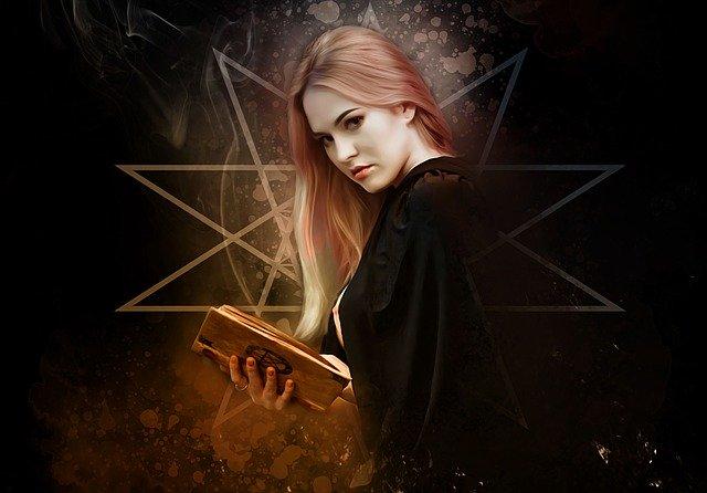 dívka s čarodějnou knihou