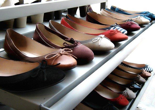 výběr obuvi
